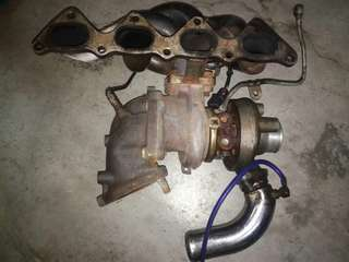 Evo 3 TDO5 turbo with banana manifold