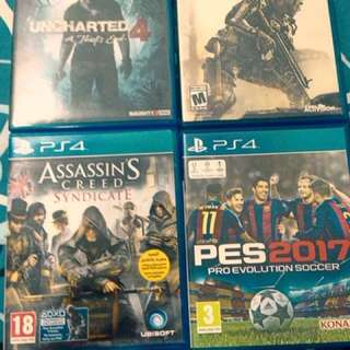 📀Ps4 Games for sell or swap