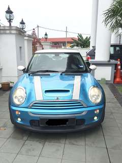 2004 Mini Cooper S (M) vvip owner