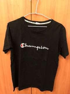 Champion 黑色短T
