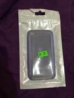 (包郵)iPod Touch 4 case 紫色透明軟膠case全新