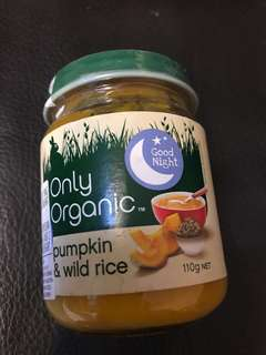 Organic Baby puree canned food - convenient for travelling