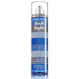 Bath & Body Works Beach Nights Fine Fragrance Mist