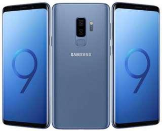 S9+ 128G (藍.紫.黑)
