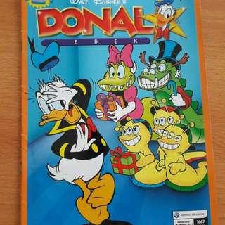 Preloved Buku Komik Donal Bebek Besar