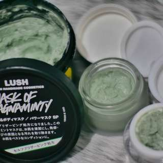 (Share in Jar) LUSH Mask of Magnaminty 10ml