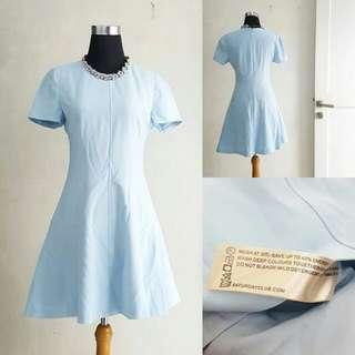 Dress Wanita Baby Blue
