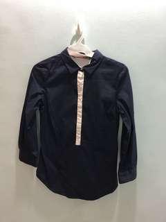 Zara Navy Blue Polo
