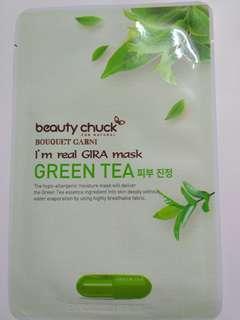 Beauty chuck Green Tea mask sheet