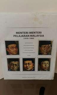 Potret Menteri-menteri Pelajaran Malaysia vol. 2
