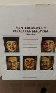 Potret Menteri-menteri Pelajaran Malaysia vol.3