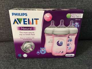 Avent Natural bottle (3 pack)