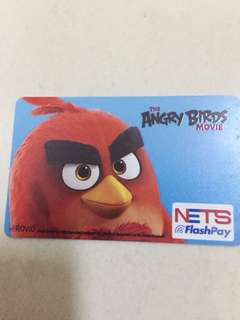 angry bird movie collectible Nets flashpay card