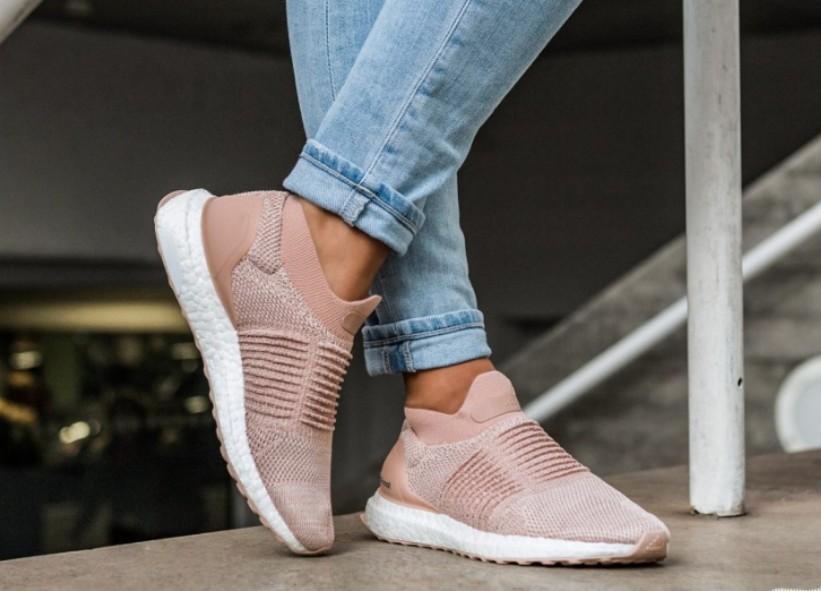 e6325463693cb Adidas Ultra Boost W Laceless - Ash Pearl Pink