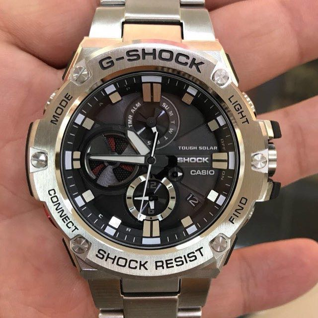 251c1bdd54d Authentic Brand New Casio G-Shock G-Steel Smart Phone Bluetooth GST ...