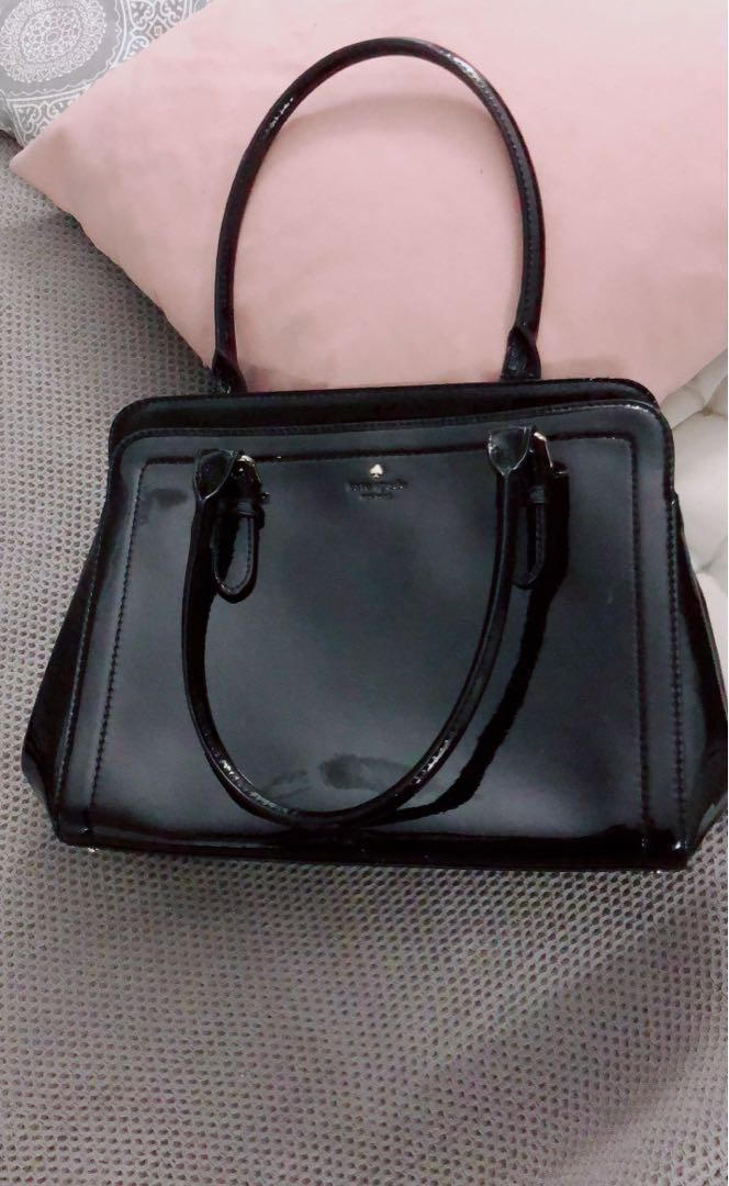 Authentic Kate Spade ♠️ handbags tote bag black