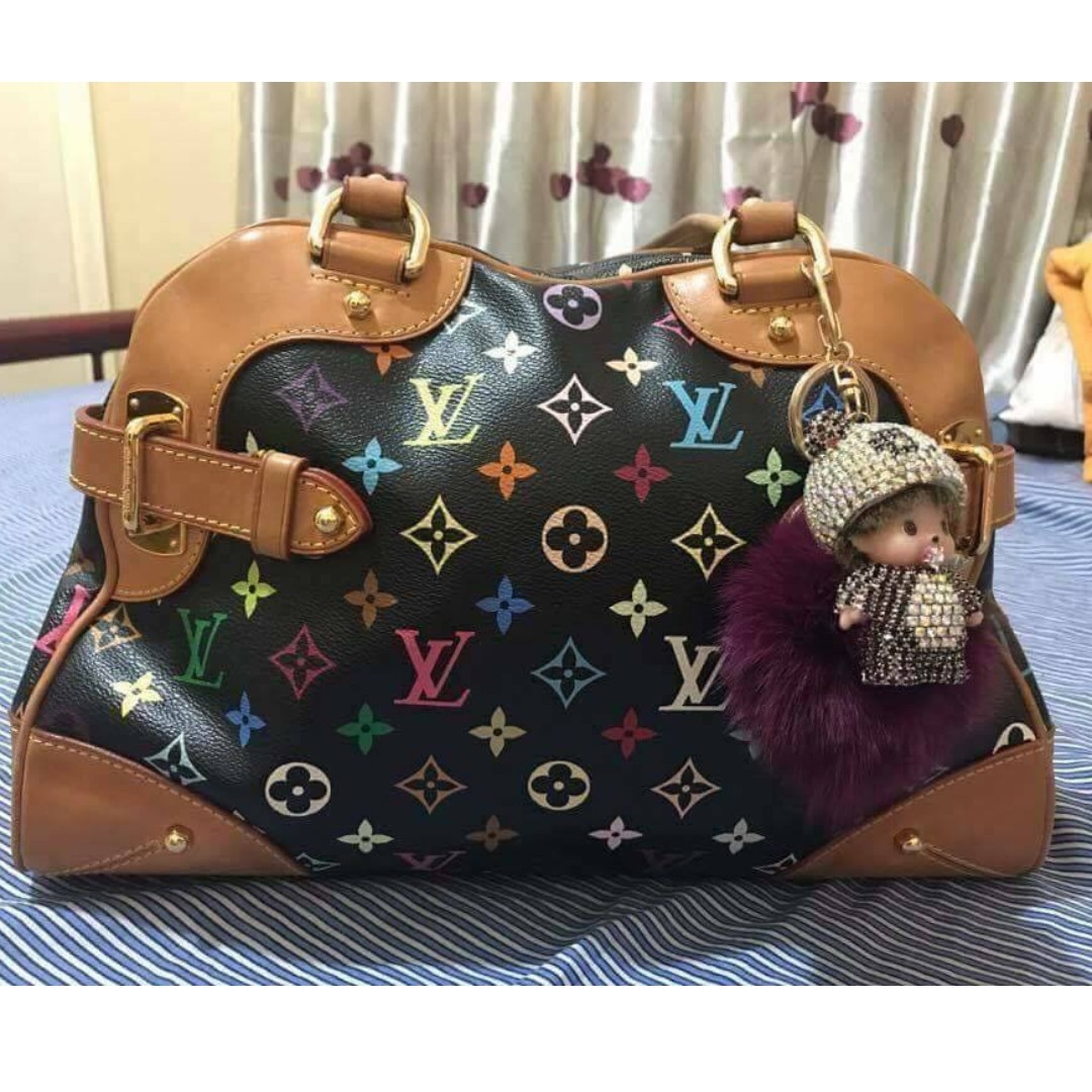 7a8f9d0e07a38 AUTHENTIC LV CLAUDIA MULTICOLOR on Carousell