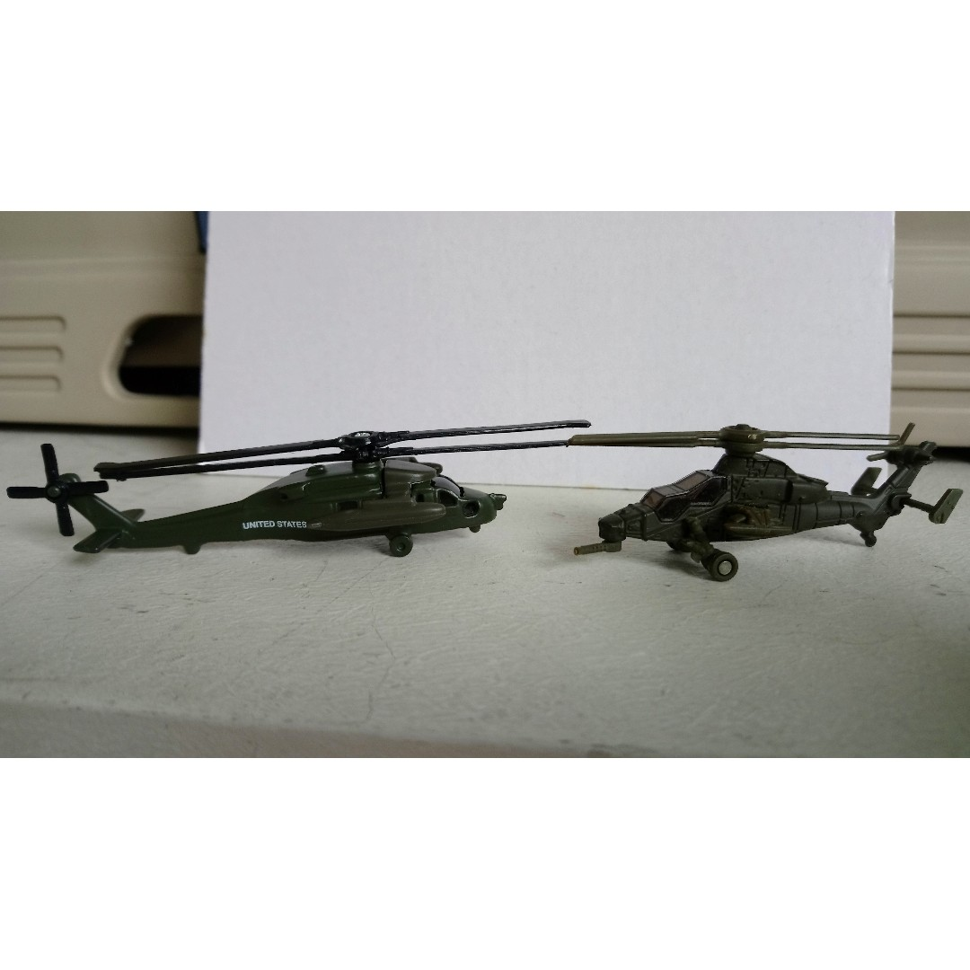 Toy Black Hawk Helicopter - Helicopter and Bridge Wallpaper