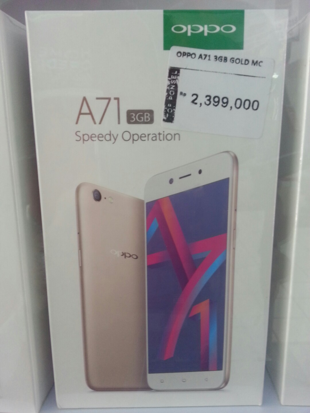Cash Back 200 Rb Oppo A71 Ram 3gb Mobile Phones Tablets Android