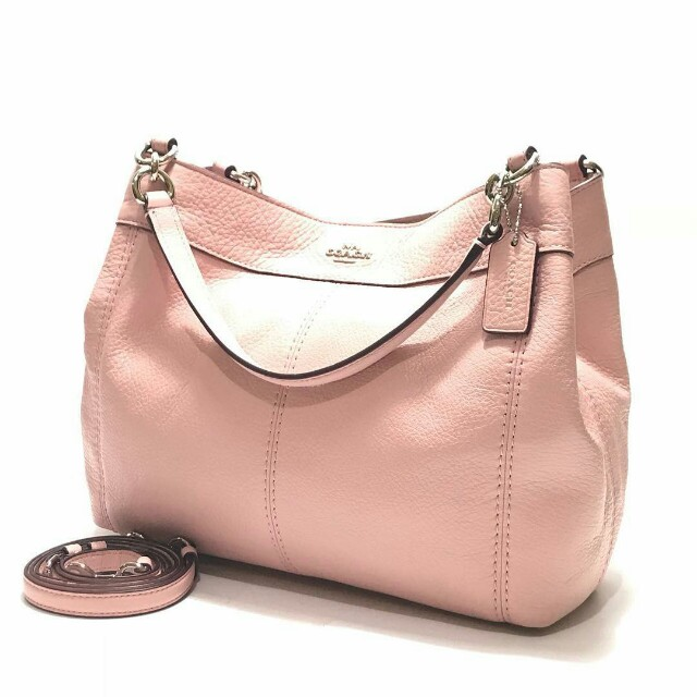 Coach  F23537 Pebbled Leather Small Lexy Shoulder Bag (Blush 2) size ... 9a003b5c6c895