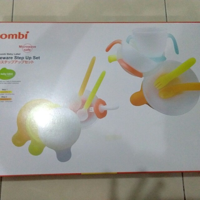 Combi baby tableware set on Carousell