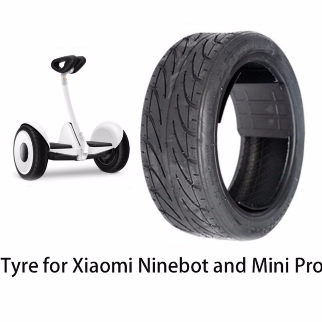 Diy Upgradable Wearable Tyre For Xiaomi Ninebot Mini Pro Electrica Self Balancing Scooter Black Balance Skateboard 70 65 Sports Games Equipment On Carousell