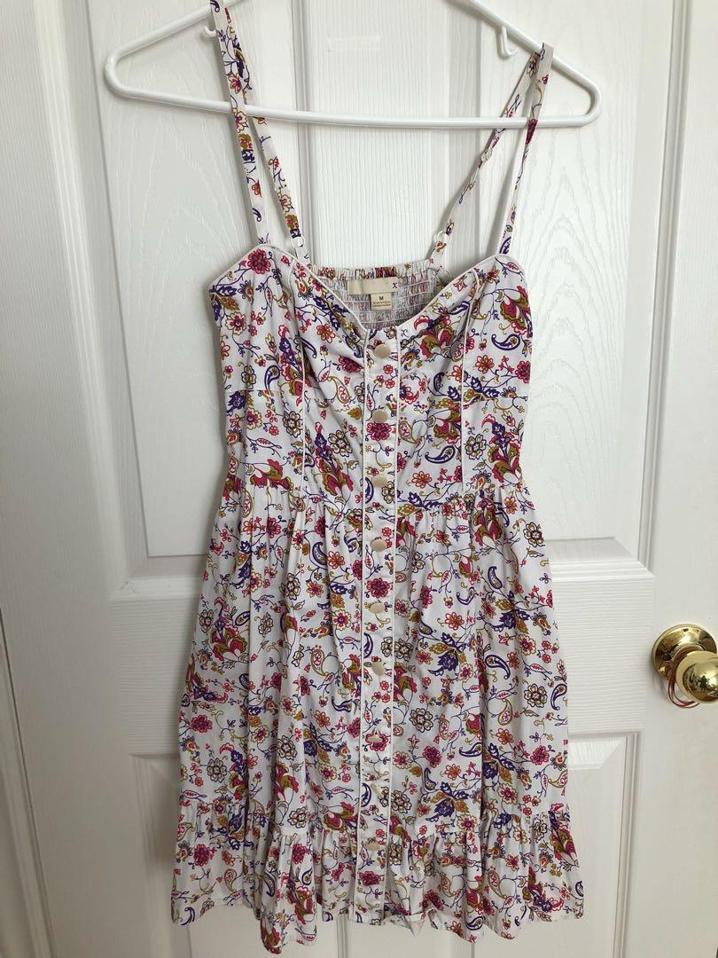 Floral summer dress - Size M