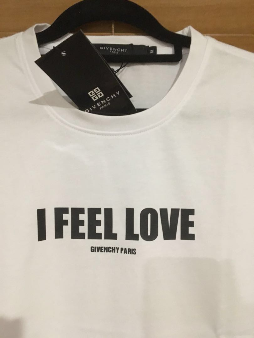 "GIVENCHY ""I feel love"" TShirt"
