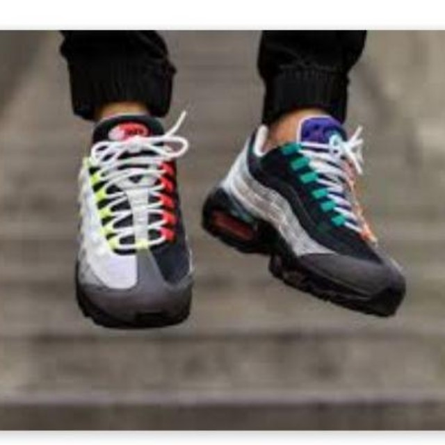 new concept cb778 69e5c Greedy airmax 95 limited edition nike, Men s Fashion, Footwear on Carousell