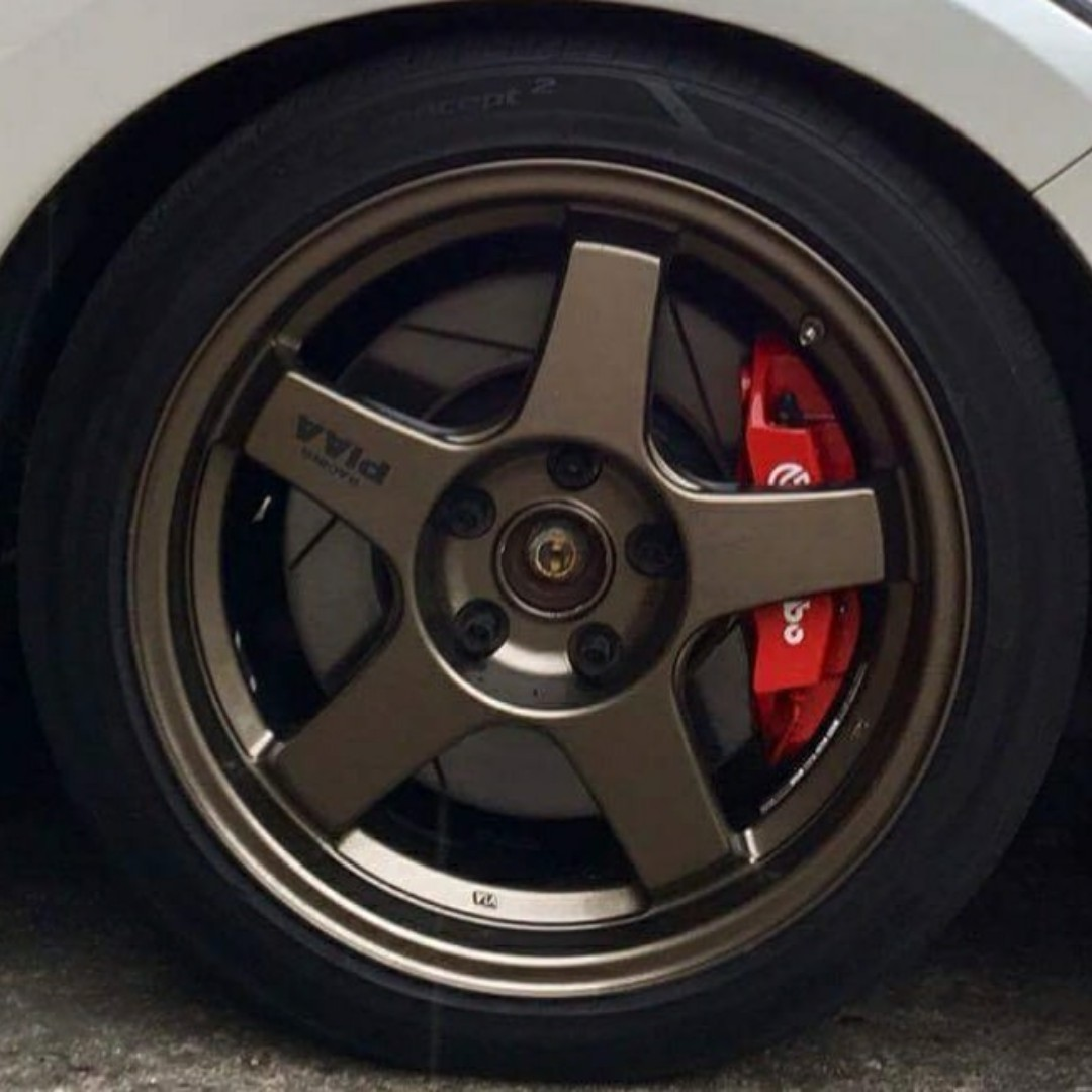 HONDA Brembo Big Brake kit 4pot & 330mm slotted disc, Auto Accessories on Carousell