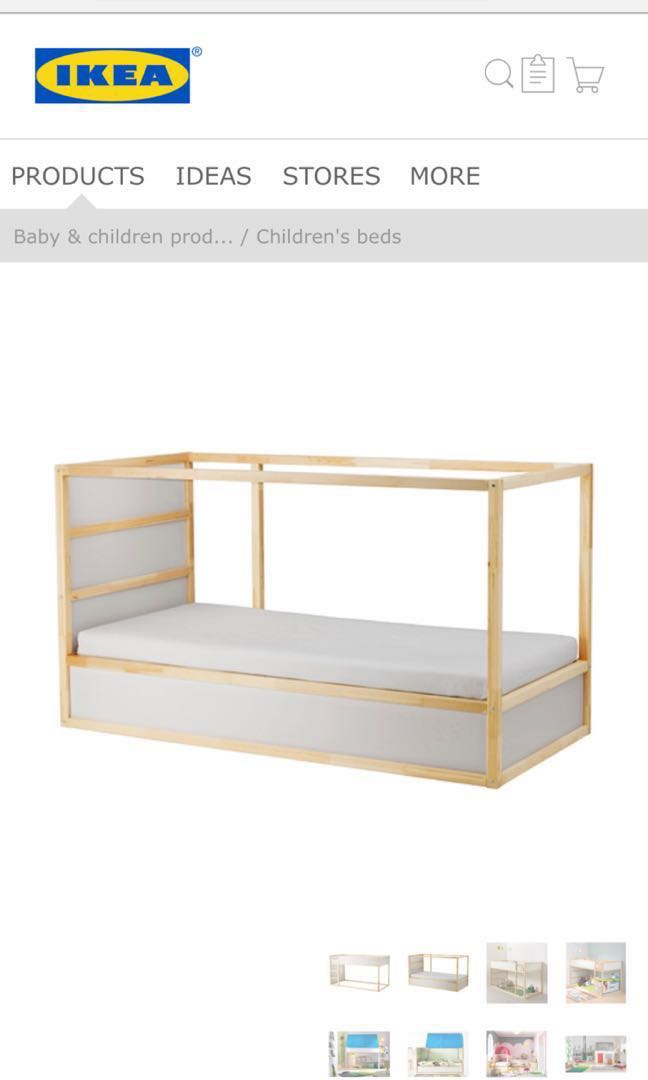 Ikea Kura Bed For Sale Furniture Beds Mattresses On Carousell