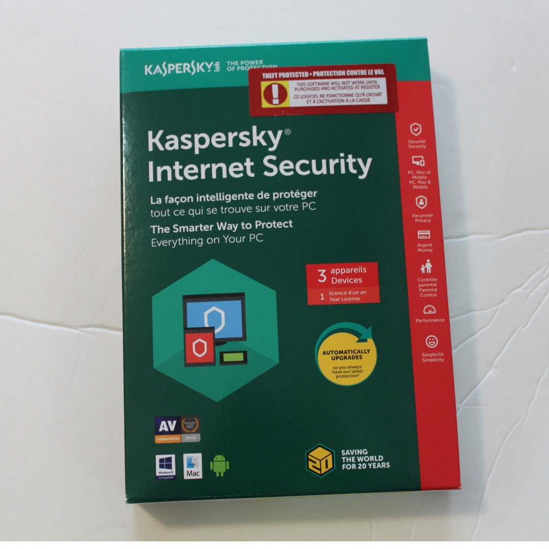 Kaspersky internet security (2 Devices)