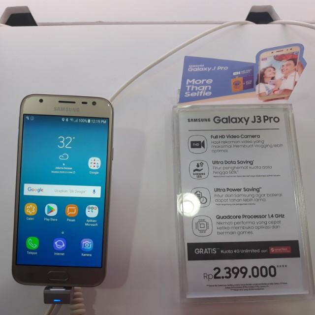 Kredit Tanpa Kartu Samsung J3 Pro Elektronik Telepon