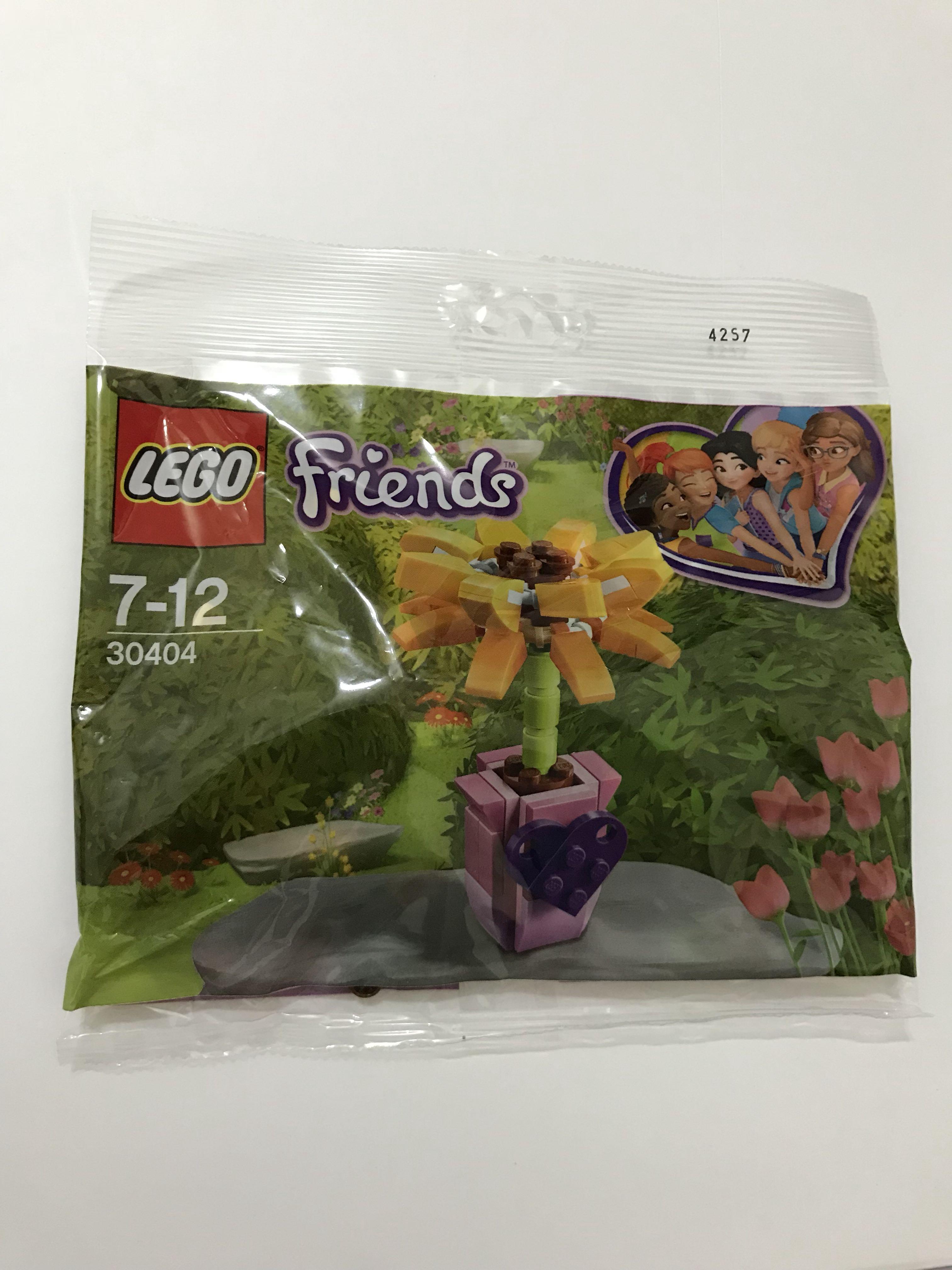 Lego Friends 30404 Frendship Flower Polybag Sealed NEW