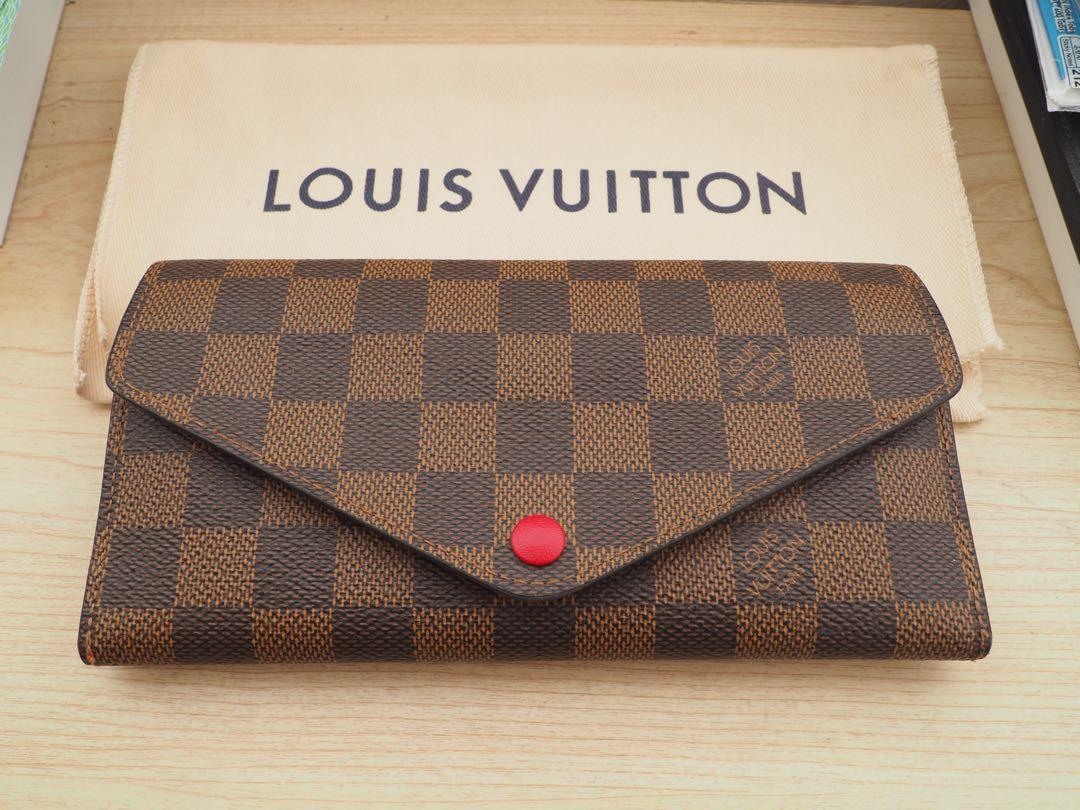 Louis Vuitton Josephine Wallet Damier Ebene