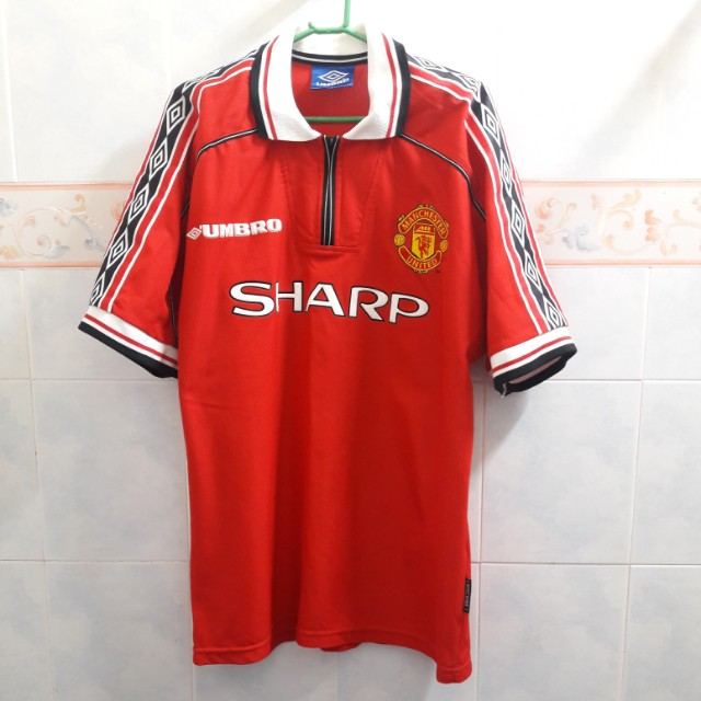 detailed look 812c6 e8b32 Manchester United Home Kit/Jersey 1998/99