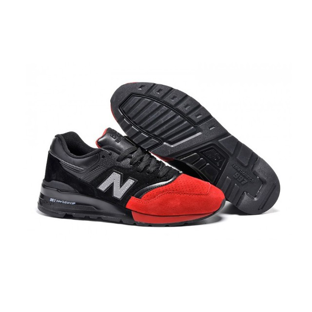 8bf2fc4f99a97 New Balance 997 (Red/Black) (price reduced), Men's Fashion, Footwear ...