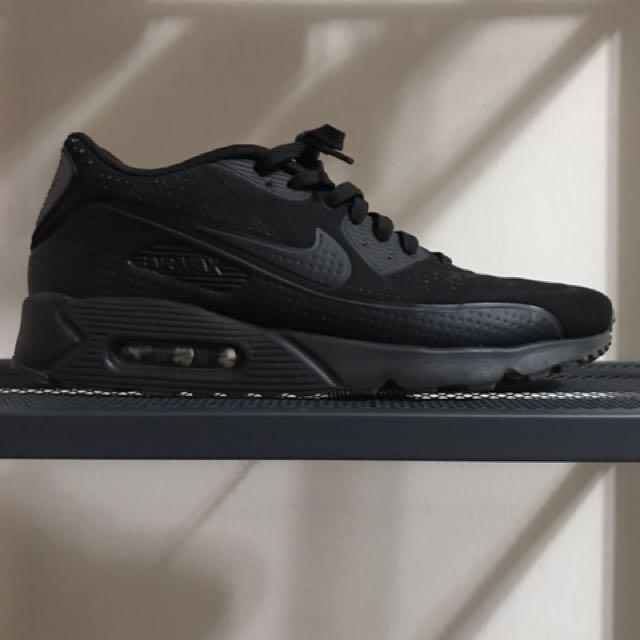 67a29382db6 Nike Air Max 90 Ultra Moire Triple Black