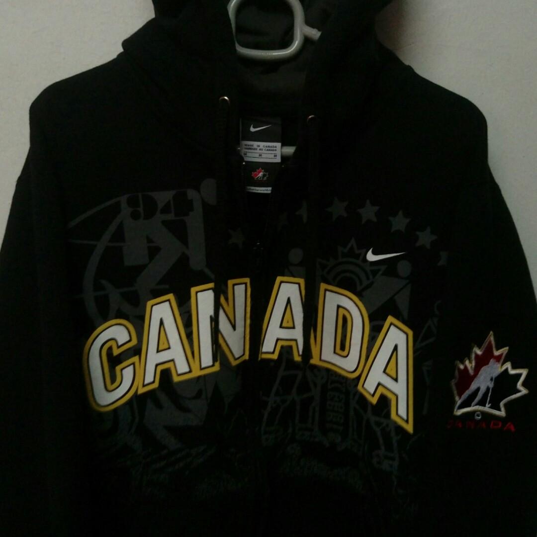 e41196abbd5c Nike Canada Ice Hockey Sweater Hoodie