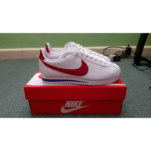 b92cb98b368 Nike Cortez Leather Forrest Gump Colorway