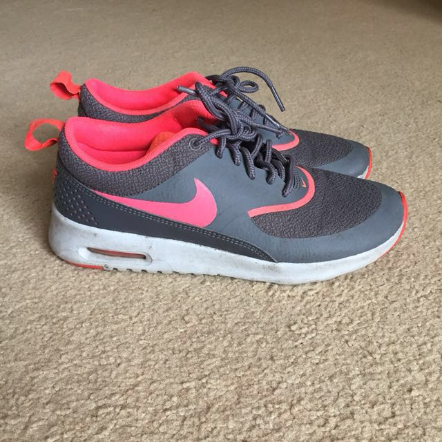 Nike Thea Pink And Grey