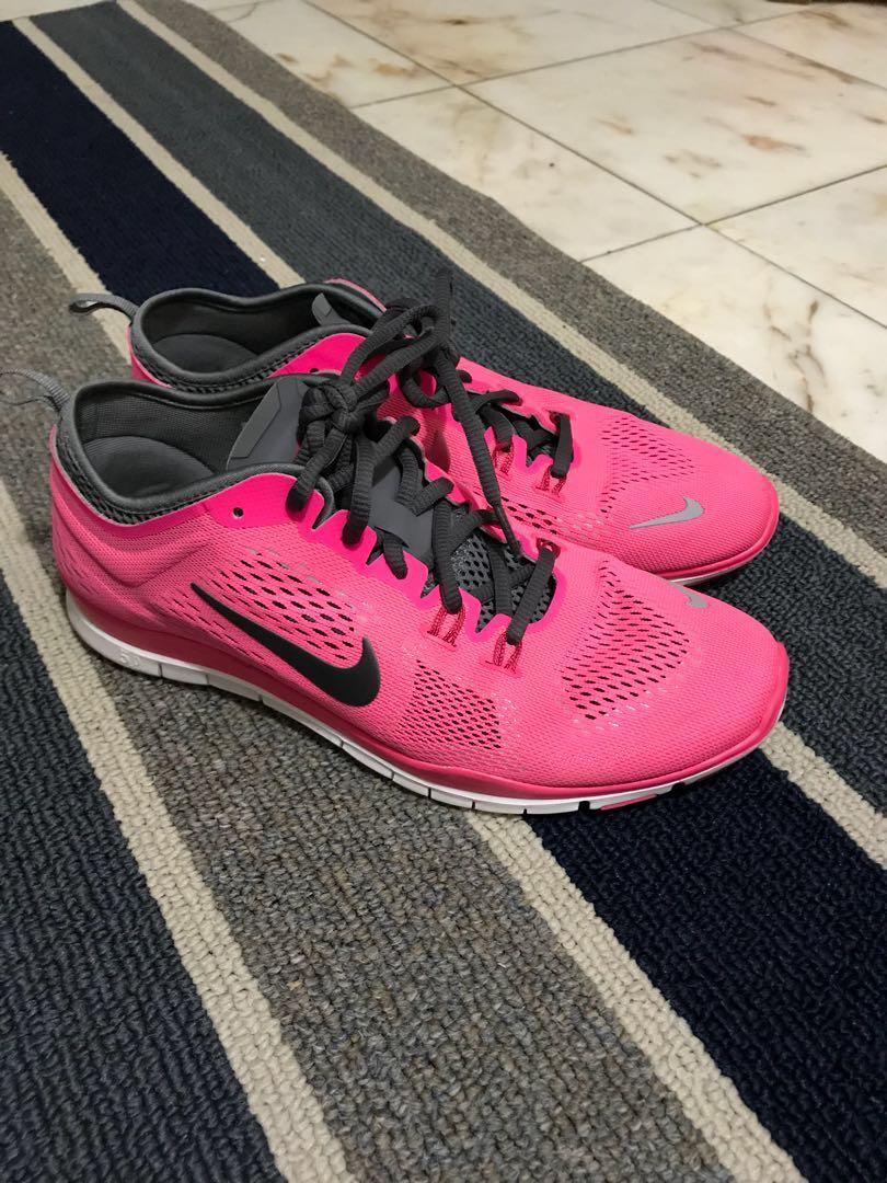 Pink Nike Running Shoes