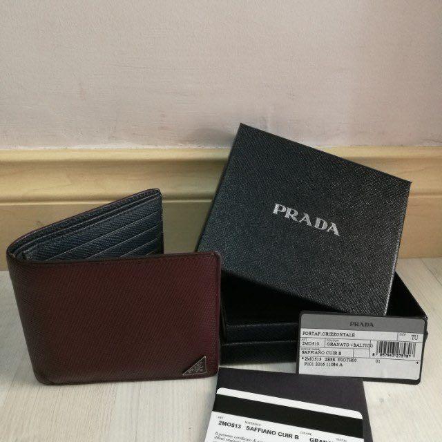 a1134b4a876b ... get shopping prada saffiano leather billfold wallet barangan mewah beg  dan dompet di carousell a63ee 2f2da