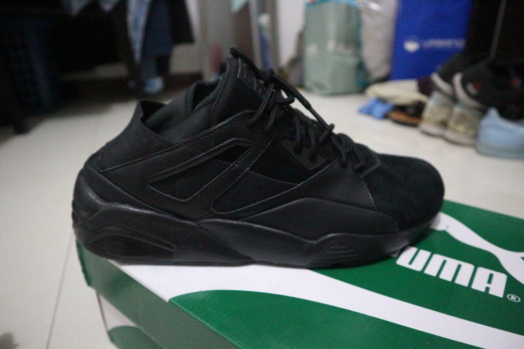 80f4555719597f Puma Blaze of Glory Sock Tech - All Black - US 9
