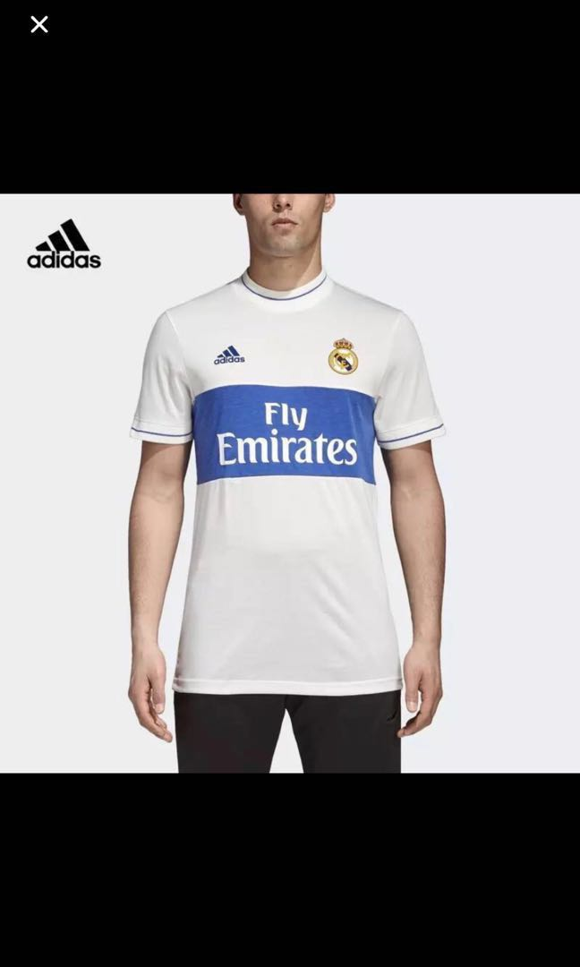 differently 7fa0d 8a22f Real Madrid Icon Jersey, Sports, Sports Apparel on Carousell