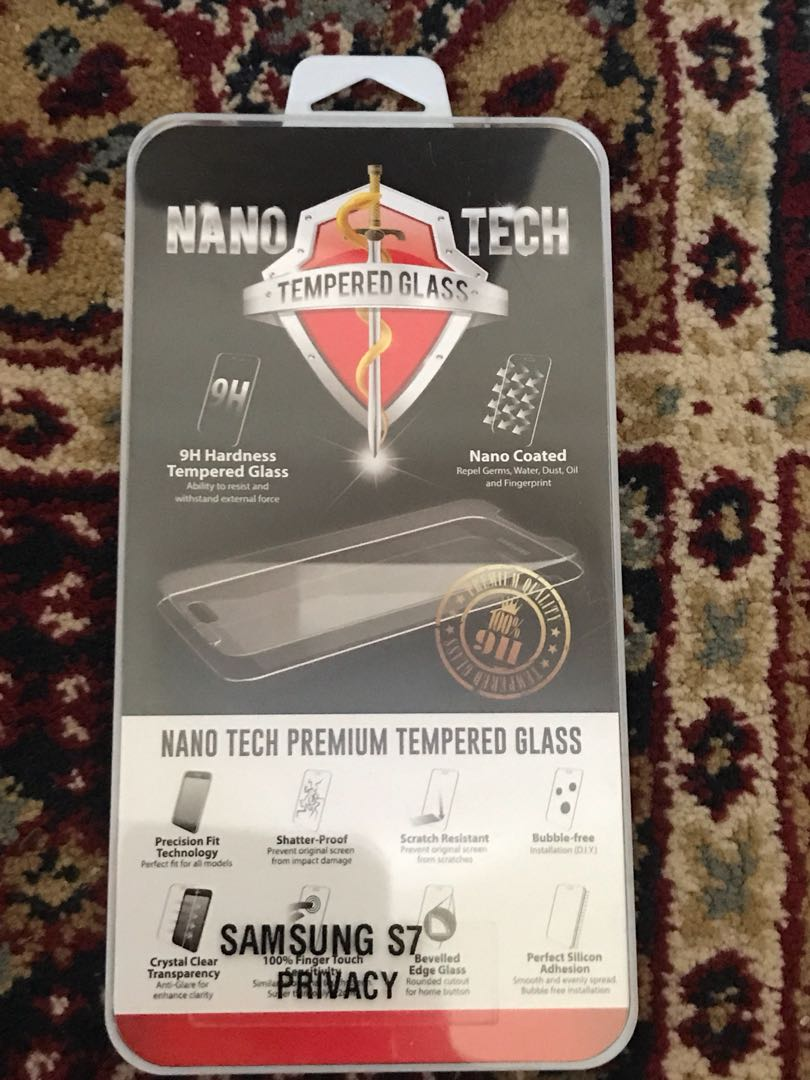 Samsung S7 Privacy Tempered Glass Screen Protector