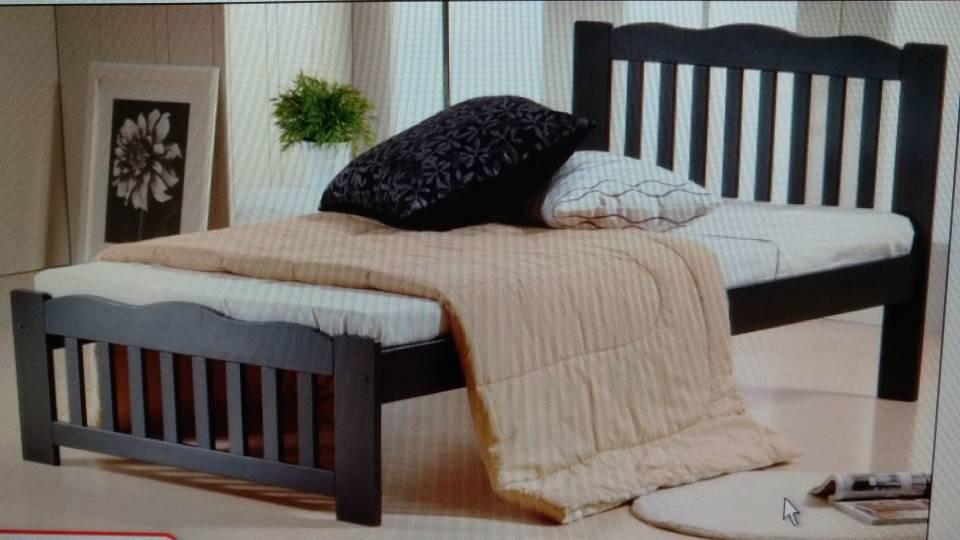 Set Bilik Tidur Single Katil Tilam Almari Rumah Perabot Di Carou