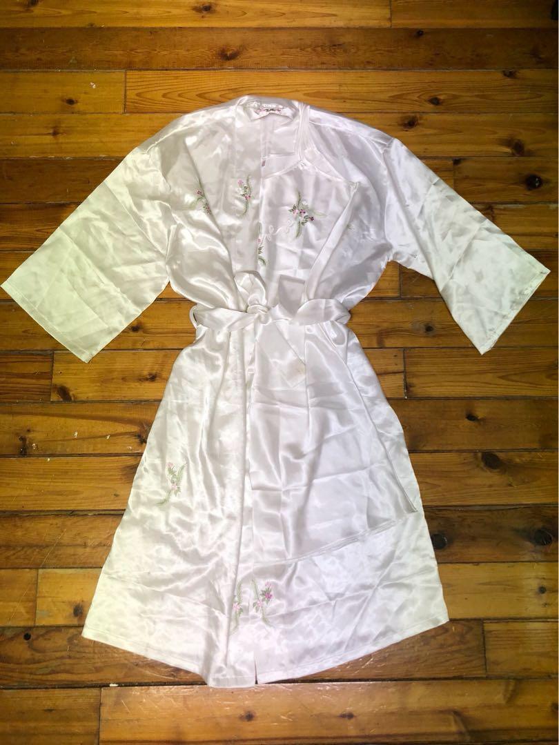 Super cute silk pajama set