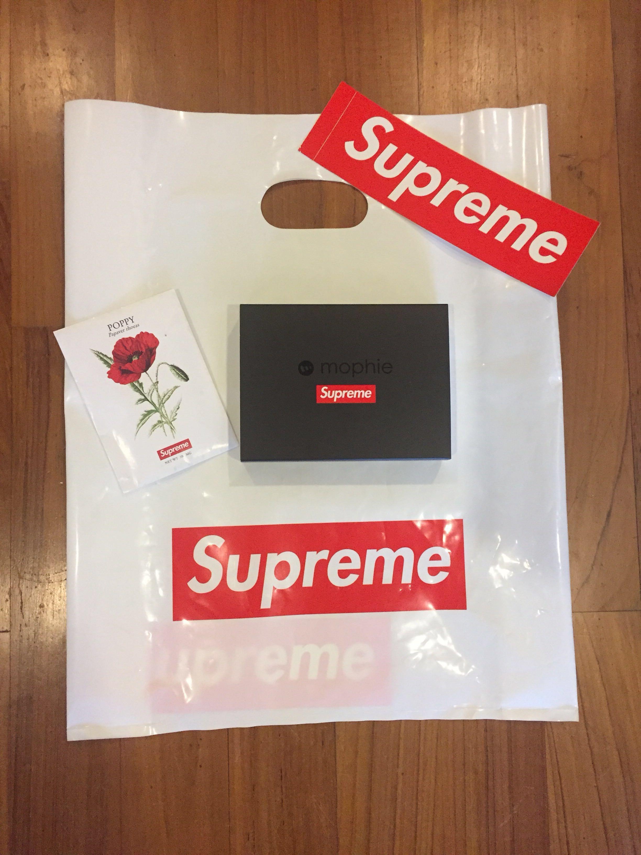 wholesale dealer 3f882 ef8b5 Supreme mophie encore plus 10k black