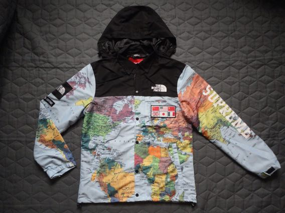 Helm007s items for sale on carousell supreme x the north face world map jacket gumiabroncs Images